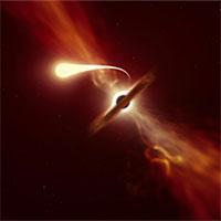 Video hiếm thấy: Khoảnh khắc hố đen khổng lồ nuốt chửng ngôi sao nặng như Mặt trời