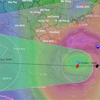Bão số 7 suy yếu trước khi vào đất liền, miền Bắc mưa lớn