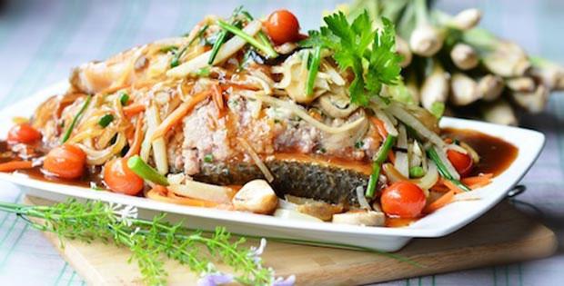 Món ăn với cá chép