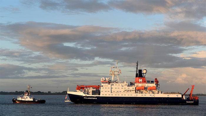 Tàu Polarstern trở về Đức ngày 12/10 sau hơn một năm nghiên cứu Bắc cực