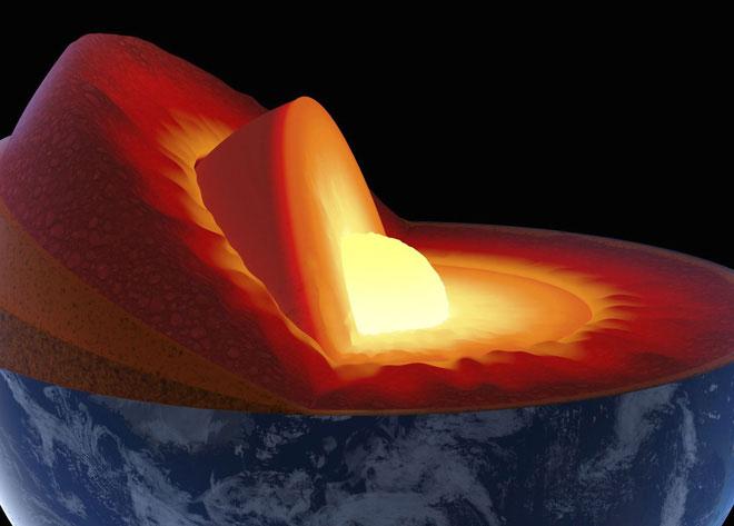 Các nhà khoa học giả định rằng hydro kim loại có tồn tại trong lõi Trái đất
