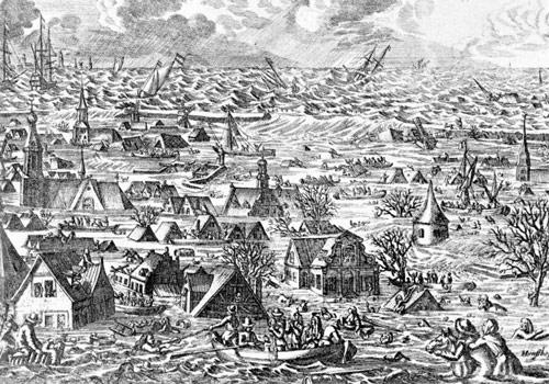 Lũ lụt đã đeo đuổi loài người, tàn phá và cướp đi nhiều sinh mạng trong suốt chiều dài lịch sử