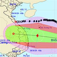 Bão Saudel tan trên biển, bão Molave tăng cấp hướng vào biển Đông