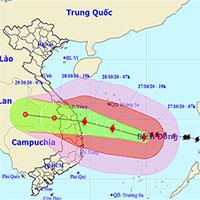 3 điểm đặc biệt lưu ý về bão số 9 - bão Molave