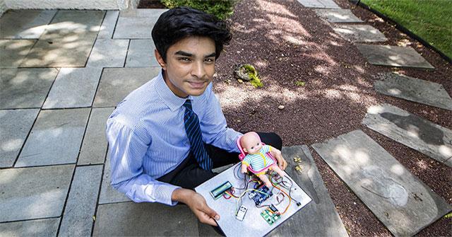 Sáng chế thiết bị cảnh báo nhiệt độ, cậu bé 15 tuổi mong nhiều trẻ em được cứu