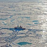"""Khối khí methane """"ngủ say"""" dưới Bắc Cực bắt đầu thoát ra ngoài"""