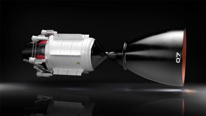 Thiết kế động cơ hạt nhân của công ty USNC-Tech.
