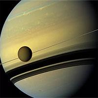 """NASA công bố một hóa phân tử """"lạ"""" trong tầng khí quyển của vệ tinh Titan"""