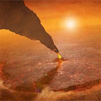 Hình ảnh kinh hoàng về vụ phun trào núi lửa trên sao Kim