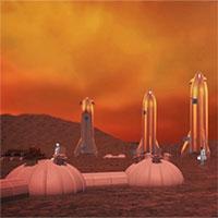 Video: Mô phỏng kế hoạch xây dựng thành phố trên sao Hỏa