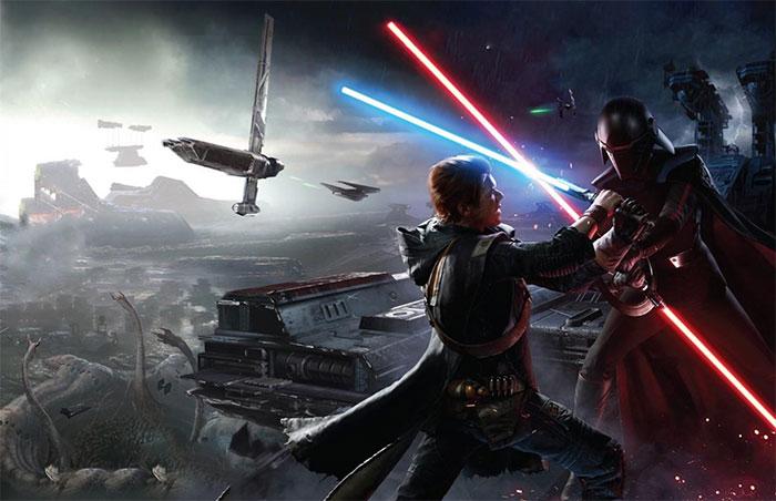 """Thanh gươm ánh sáng trong bộ phim """"Chiến tranh giũa các vì sao""""."""