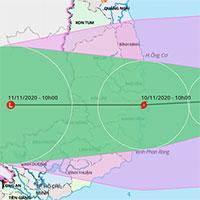 """Bão số 12 gây mưa rất lớn ở miền Trung, bão số 13 đã """"lấp ló"""" vào biển Đông"""