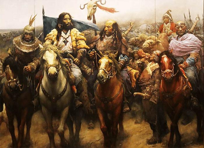 Đế chế hùng mạnh cuối cùng của những người du mục là đế chế Mông Cổ.