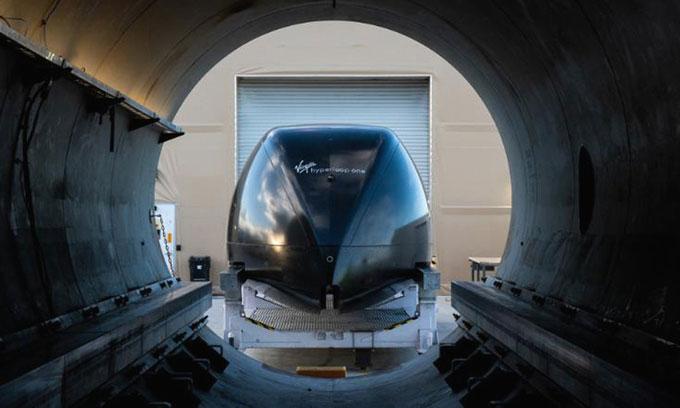 Virgin Hyperloop hy vọng công nghệ tàu siêu tốc của mình sẽ được chứng nhận trong vài năm tới.
