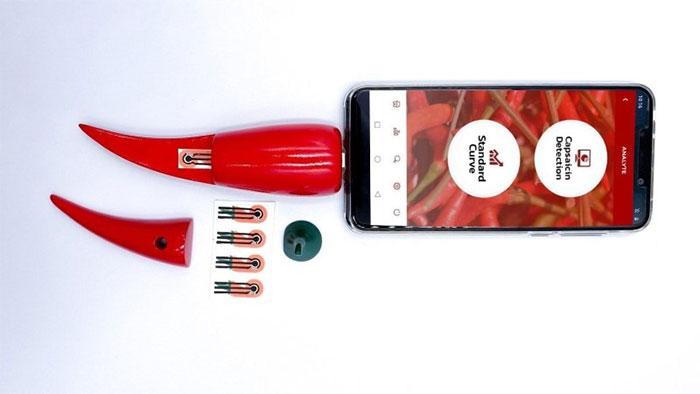 Chilica-pod kết nối trực tiếp với điện thoại thông minh.