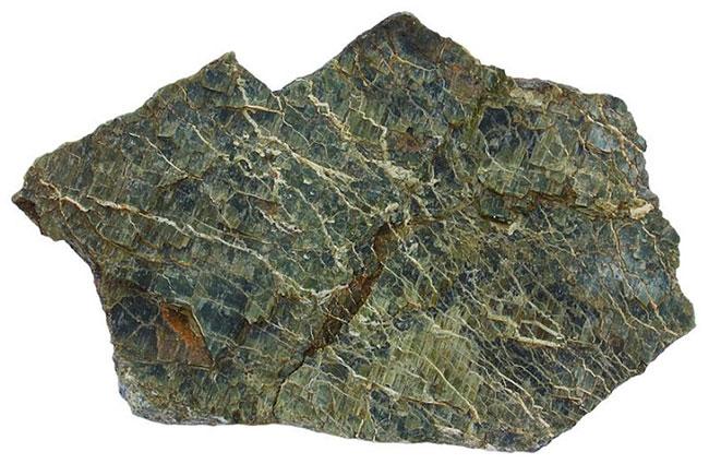 Mẫu đá họ Serpentinite.