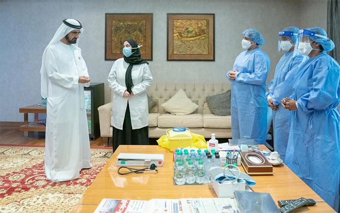 Quốc vương Mohammed bin Rashid al-Maktoum