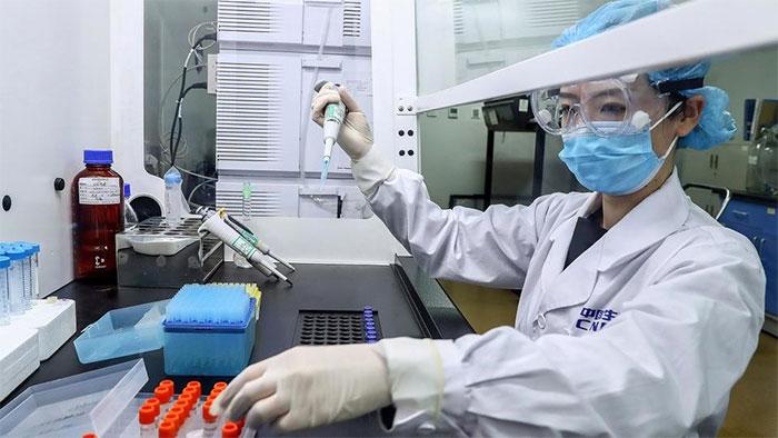Bộ phận sản xuất vắc xin của Sinopharm ở Bắc Kinh