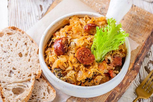 Món ăn Ba Lan Hunter's Stew