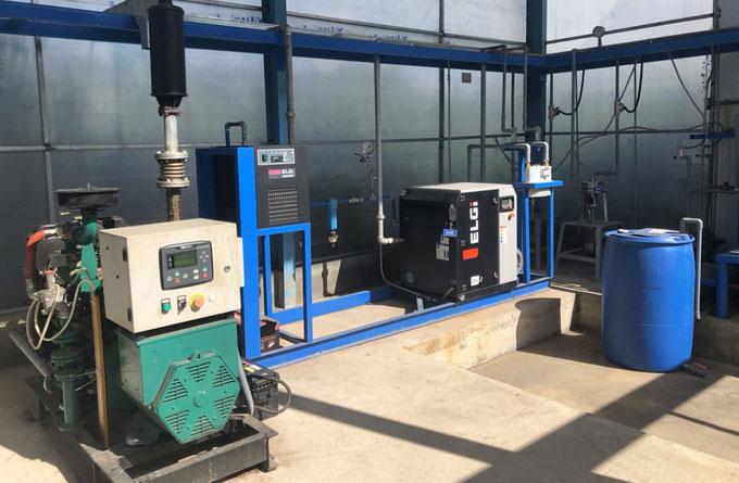 Hệ thống xử lý bùn thải tạo khí biogas có công suất phát điện 20kW tại Đắk Lắk.