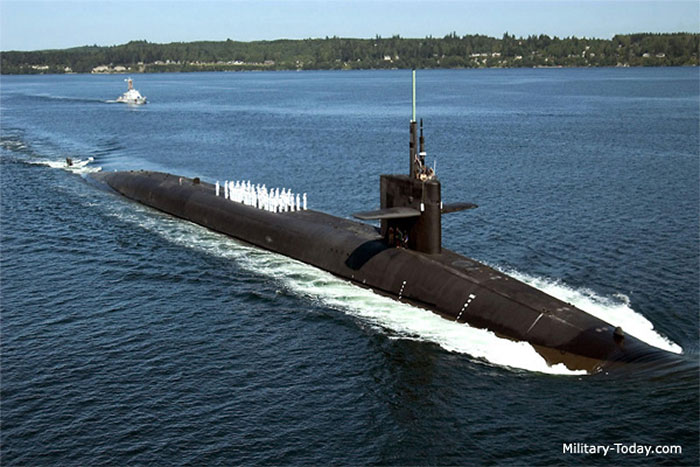 Tàu ngầm tên lửa hạt nhân lớp Ohio