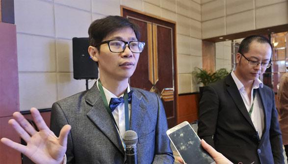 Ông Phạm Thành Nam - chuyên gia trí tuệ nhân tạo, đồng thời là người sáng lập của Open Classroom Team