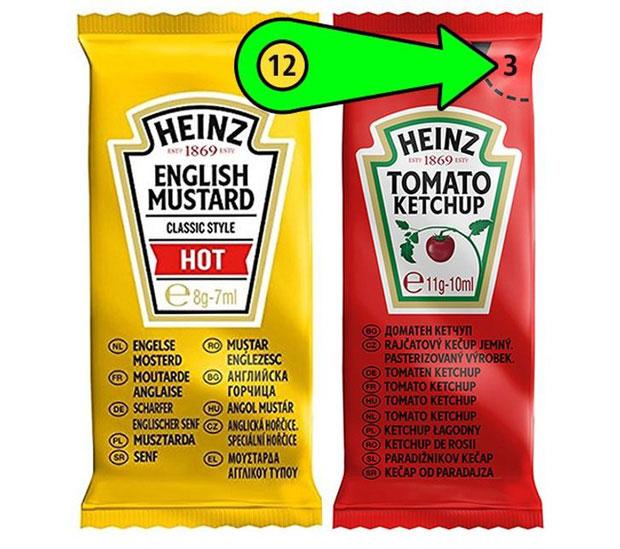 Túi đựng nước sốt của Heinz