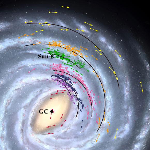 Bản đồ thiên hà mới cho thấy Trái đất gần lỗ đen quái vật ở trung tâm Milky Way hơn tưởng tượng