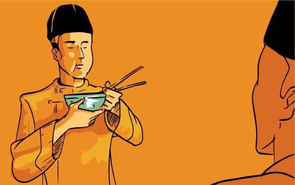 Hoàng đế sợ bị ám sát và đầu độc nên mỗi bữa ăn đều phải kiểm tra kỹ