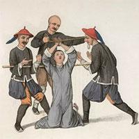 Hình phạt phong kiến Trung Quốc: Loạt ảnh đưa người xem mở mang kiến thức