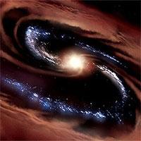 """Thiên hà """"sống sót""""trước lực hút của hố đen"""