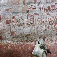 Tranh trên đá trong rừng Amazon hé lộ cuộc sống 12.500 năm trước