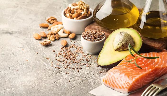Mỗi người chỉ nên hấp thụ 20 đến 35% lượng calo dưới dạng chất béo.