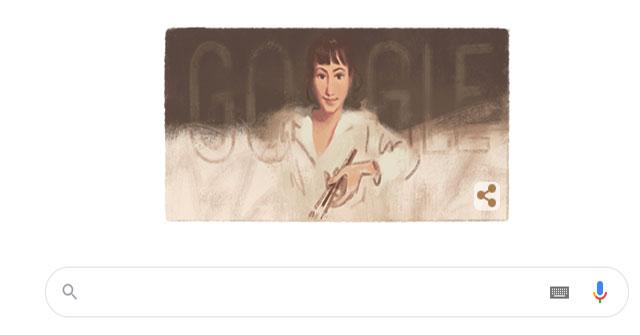 Google Doodle vinh danh nữ họa sĩ Zinaida Serebriakova