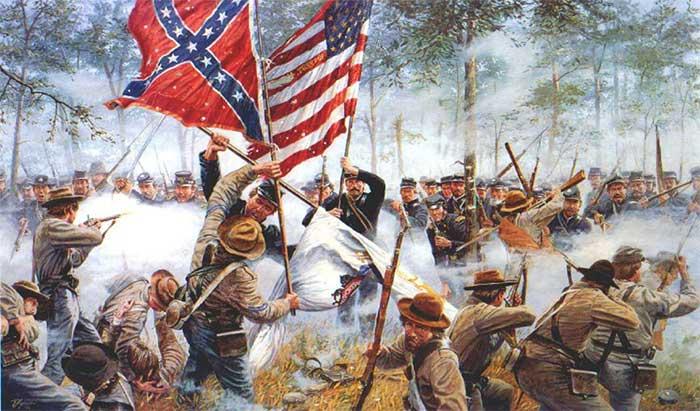 Trận Gettysburg, Nội chiến Mỹ (năm 1863)