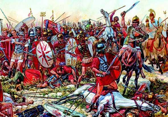 Trận Cannae, La Mã (năm 216 TCN)