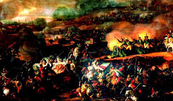 Trận Leipzig, châu Âu (năm 1813)