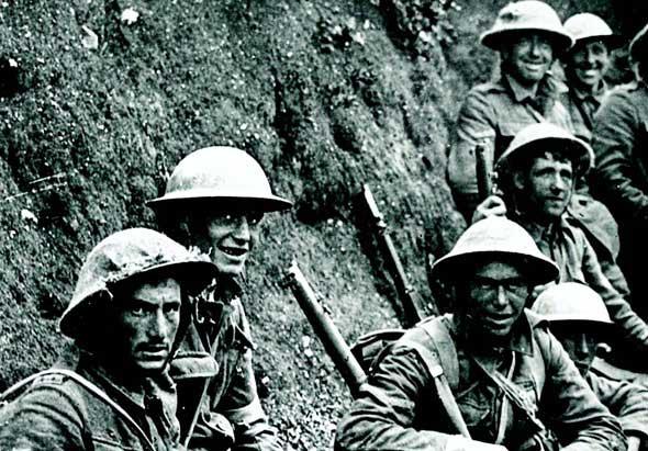 Ngày đầu trận Somme, Thế chiến I (1/7/1916)
