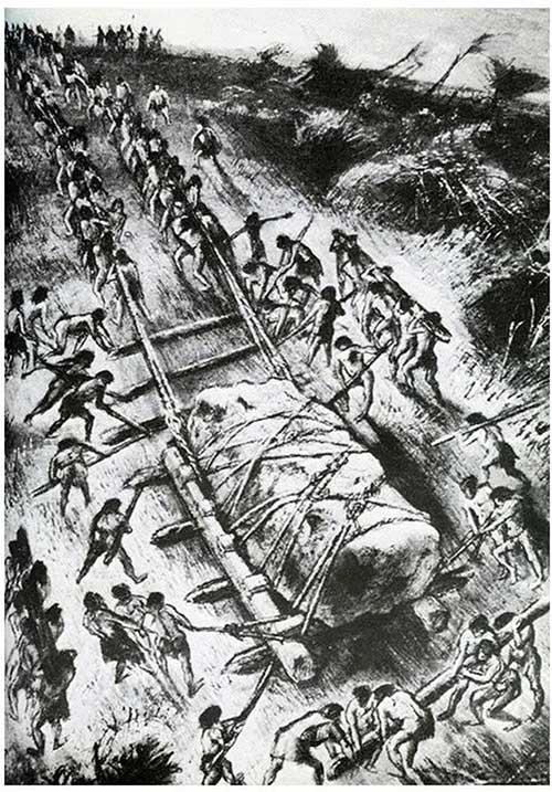 Người ta cho rằng hàng trăm người cổ đại đã tham gia xây dựng nên Stonehenge.