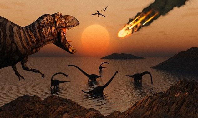 Tiểu hành tinh đâm vào Trái đất cách đây 65 triệu năm đã xóa sổ hoàn toàn loài khủng long