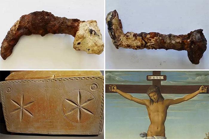 Cây đinh được cho là đóng lên người chúa Jesus.
