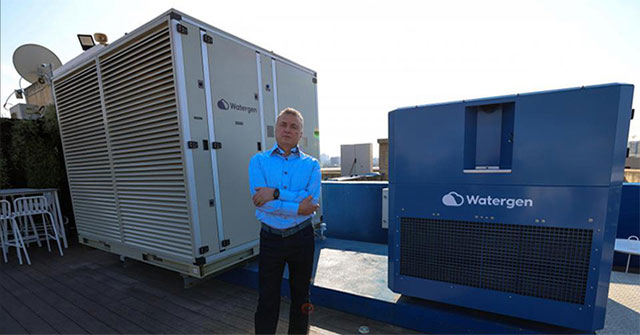 Máy chiết xuất nước từ không khí cho những vùng khô hạn
