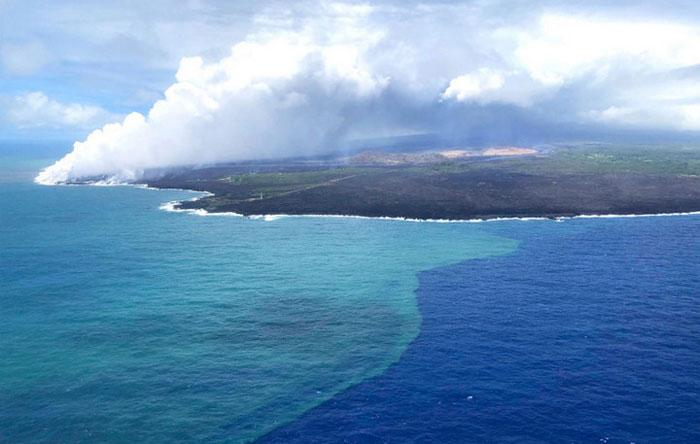 Thái Bình Dương chiếm tới 49,4% tổng lượng nước trên các đại dương của Trái đất.