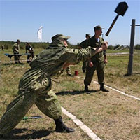 El Mundo đánh giá cao chiếc xẻng của lực lượng đặc biệt Nga