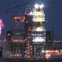 """Động cơ """"quái vật"""" của NASA trình làng thành công: Thế giới có tên lửa đẩy mạnh nhất hành tinh"""