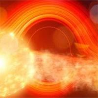 Hố đen lớn gấp 78 triệu lần Mặt trời xé rách ngôi sao