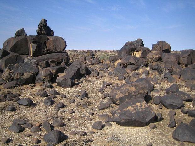 Có một di chỉ của nền văn minh bí ẩn tồn tại trong sa mạc Kalahari.