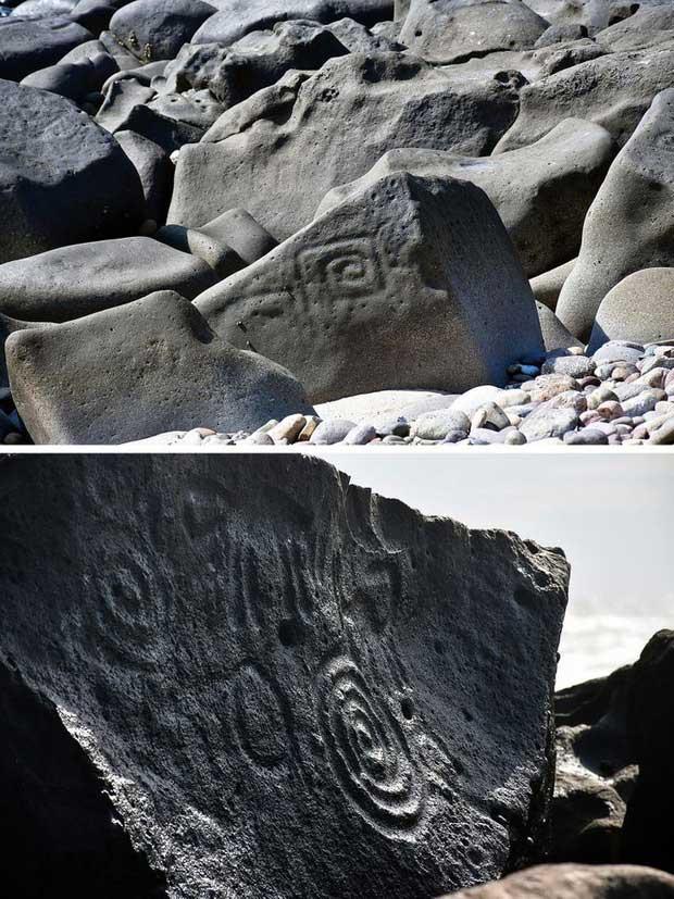 Những tảng đá nàytồn tại trong giai đoạn từ năm 1000 - 300 trước Công nguyên.