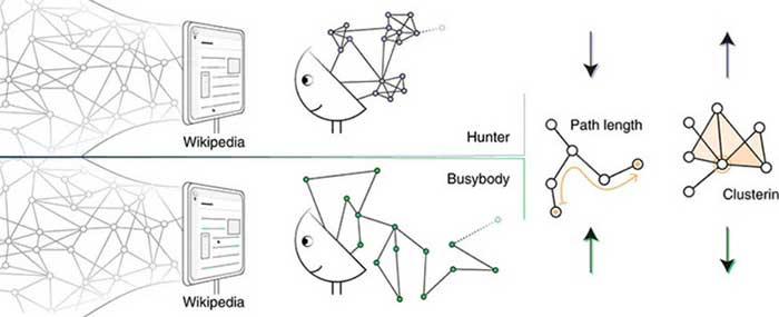 """Sự khác biệt giữa người tò mò theo kiểu """"bận rộn"""" và người tò mò theo kiểu """"thợ săn""""."""