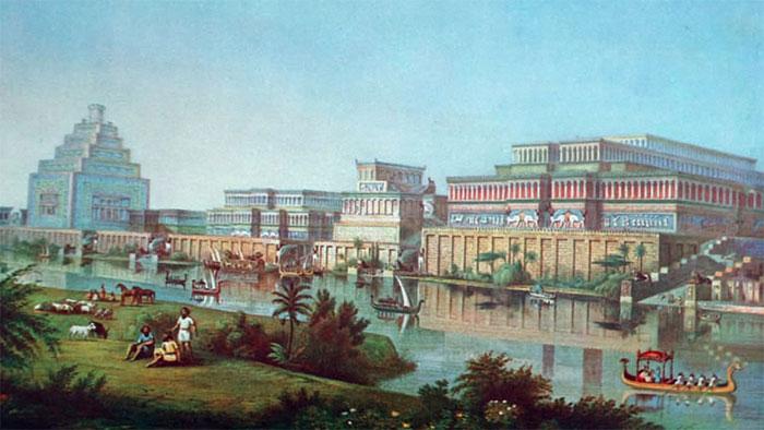 Vùng Lưỡng Hà thời cổ đại